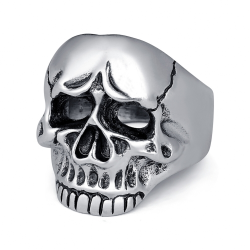 Men Skull Jewelry Rings For Men Allergy Free Punk Rock Jewelry Non-Mainstream Cool Mens Rings Party Accessory Friendship